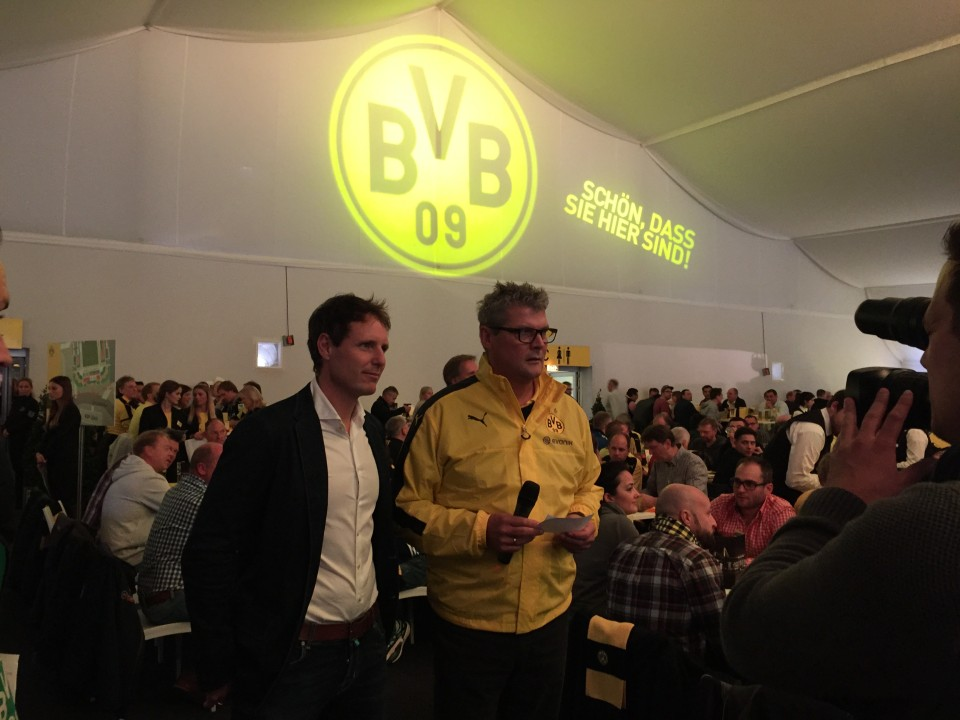 VIP Zelt zum 171. Revierderby | Agentur Prax